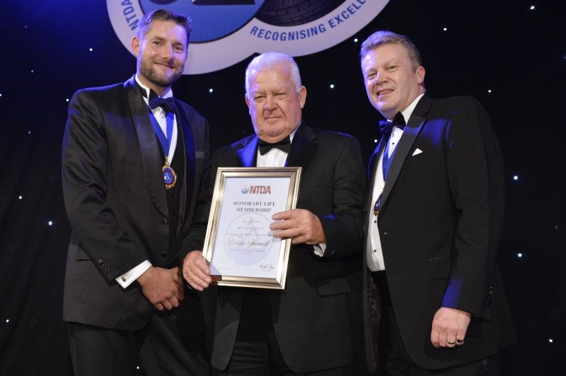 Brian Funnell and Lennie Wells become NTDA honorary life members