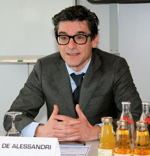 "Massimo De Alessandri will remain involved with the Marangoni Group for at least ""the next few months"""