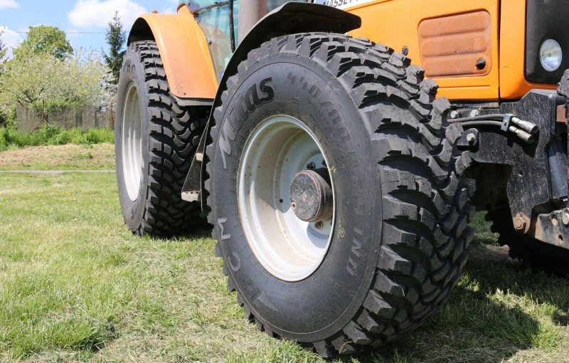 The new Mitas HCM 540/80R38 is the largest of the brand's five-size range