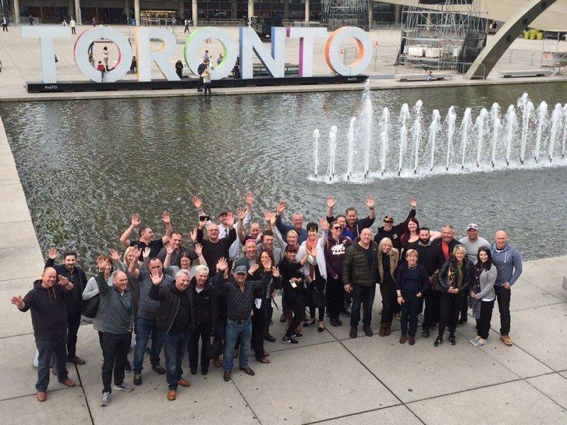 Oak Tyres hosts Evergreen dealers in Toronto