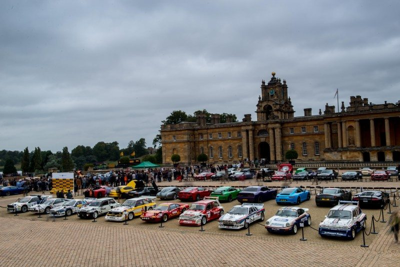 Pirelli sponsored the prestige and performance competition at Salon Privéheld held at Sir John Vanbrugh's masterpiece of Blenheim Palace in Oxfordshire in September