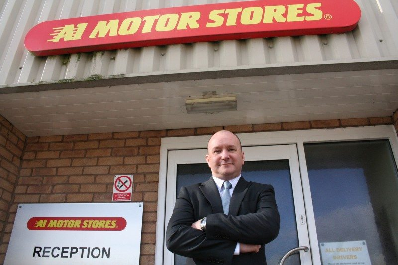 Simon Salloway, A1 Motor Stores head of operations