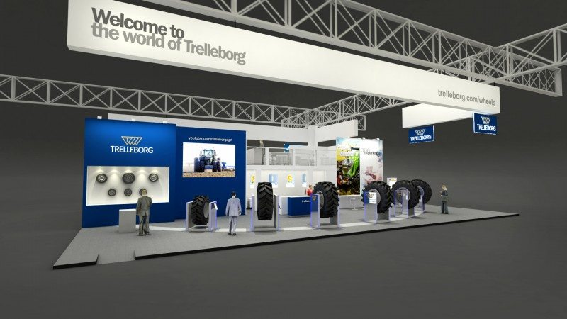 Trelleborg's EIMA International 2016 stand
