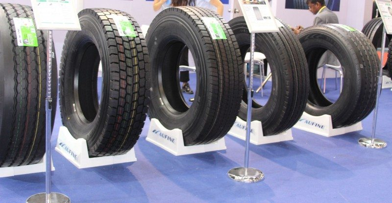 Aufine sells its truck tyres in approximately 120 countries