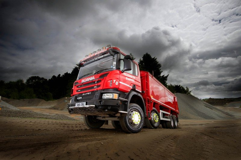Tillicoultry Quarries has implemented a full Conti construction tyres policy