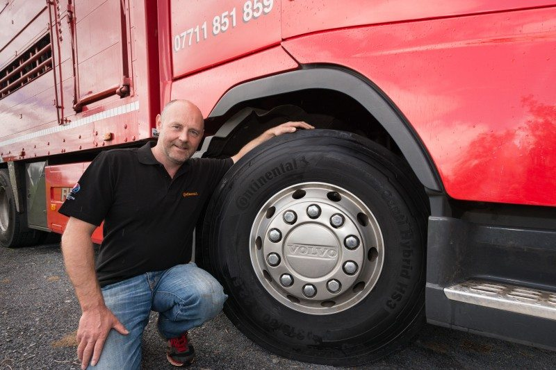 ContiPressureCheck improving tyre life for livestock haulier