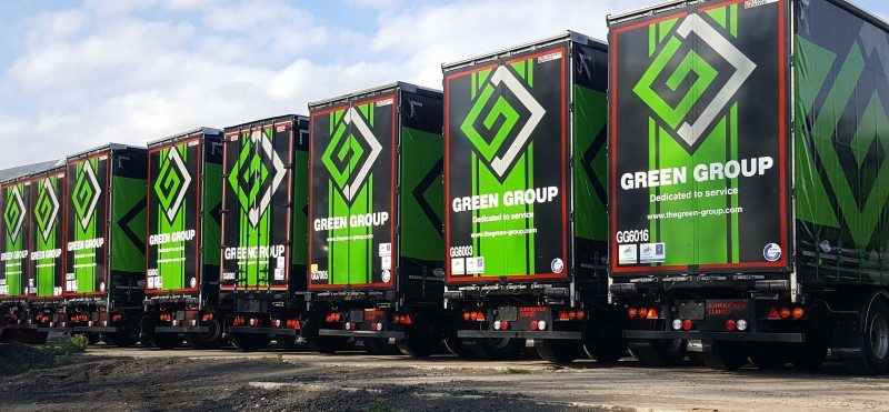 Tyres used by the Green Group's 300-plus fleet receive proactive Mastercare inspections conducted by ATS Euromaster