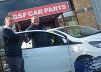 Latest car winner in GSF Car Parts' national promotion