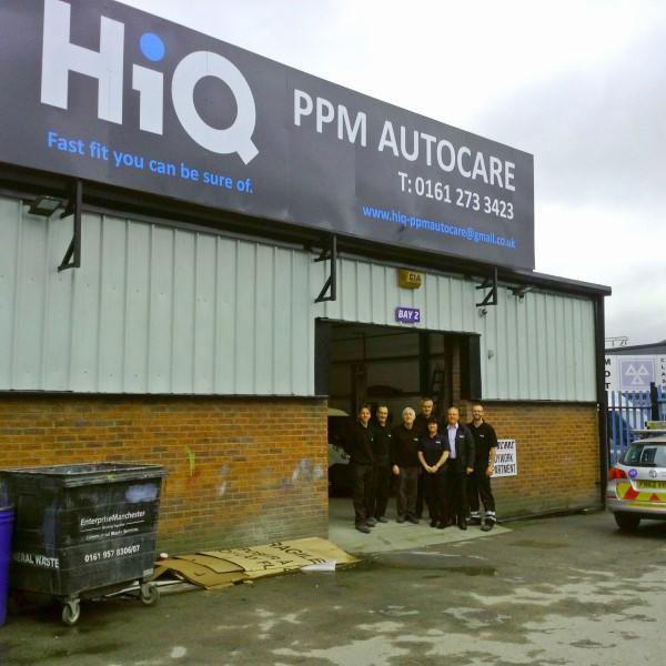 Manchester tyre store PPM Autocare rebrands as HiQ West Gorton