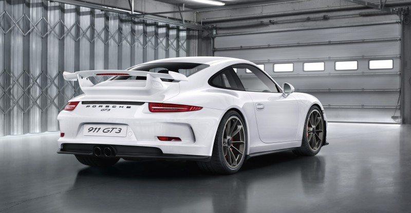 The Porsche 911 991 GT3