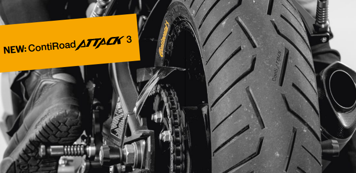 Continental introducing 4 new motorcycle tyres