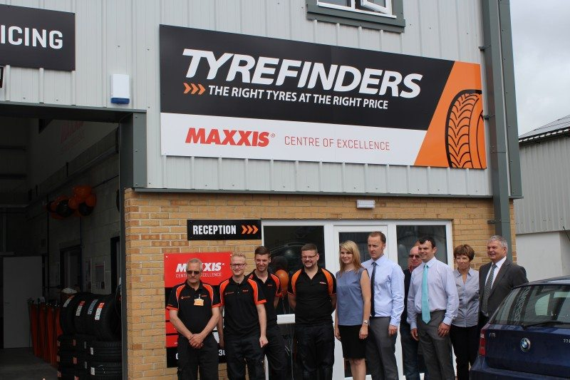 Five-depot tyre chain TyreFinders recently revamped its Helston branch