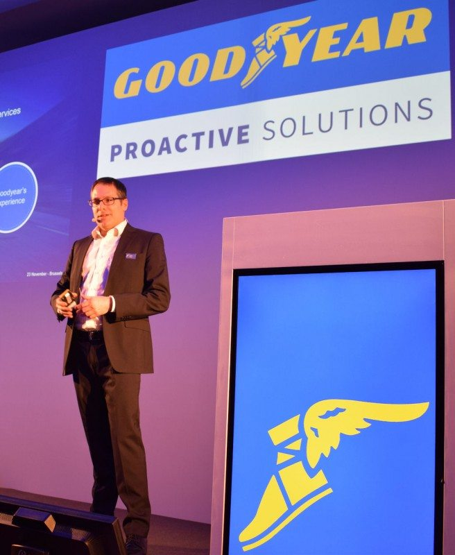 "According to André Weisz, Goodyear Proactive Solutions is ""a culmination of Goodyear's experience and strength"""
