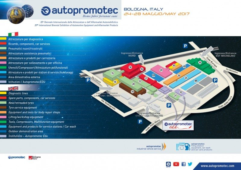 Autopromotec 2017 sells out, tyre section doubles