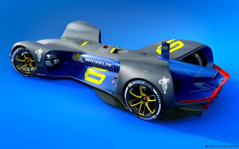Roborace names Michelin as official tyre partner