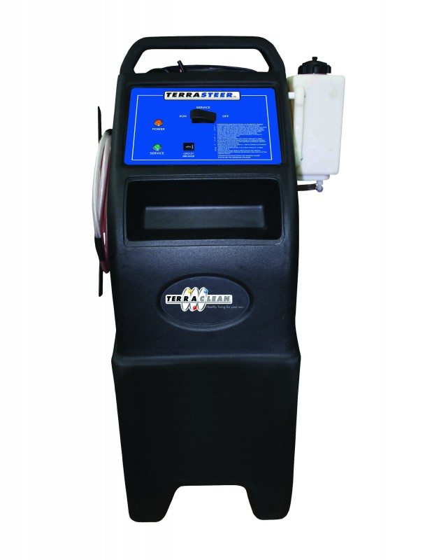 TerraClean launches new Power Steering Service Machine