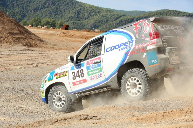 Cooper's Discoverer STT Pro tyre will help Xavier Foj take on his 27th Dakar Rally