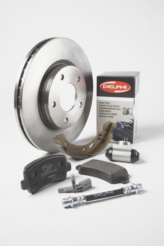 Delphi launches copper-free brake pad range