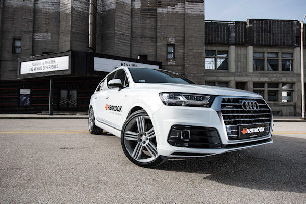 Audi's Q7 will be available with the Hankook Ventus S1 evo² SUV in size 285/35 R 22 106 Y XL