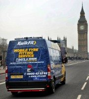 Kwik Fit begins roll-out of 'Mobile7' tyre fitting service