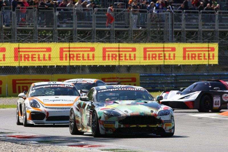 Exclusive Pirelli tyre supply to French GT Championship