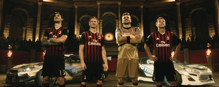Toyo Tire's 3rd AC Milan video goes live