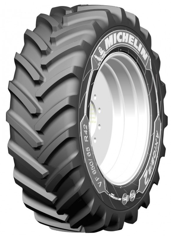 The AxioBib 2 fits in Michelin's agri range between the XeoBib and the AxioBib