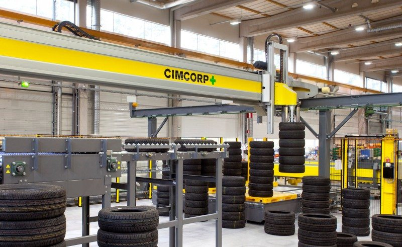 Cimcorp will supply Giti Tire with a complete turnkey system