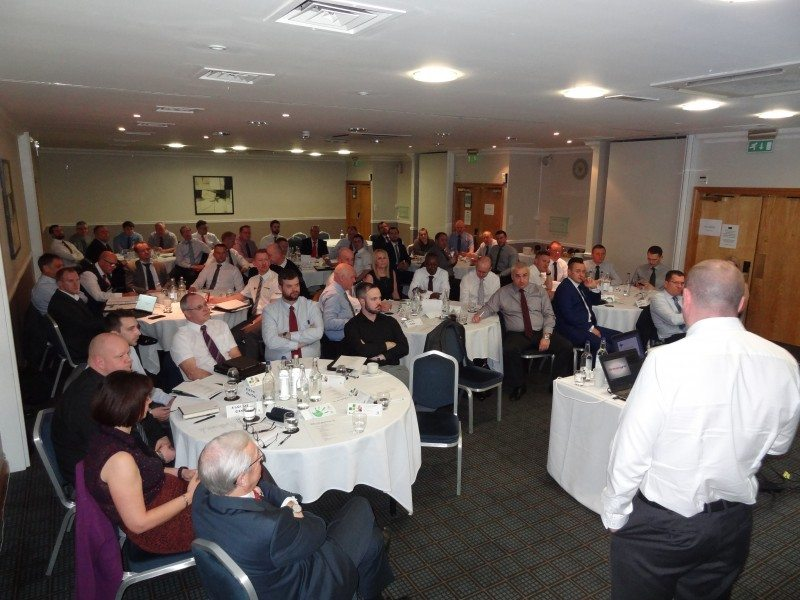 Over 50 members of Grouptyre's sales and marketing team converged in Birmingham for the firm's annual conference