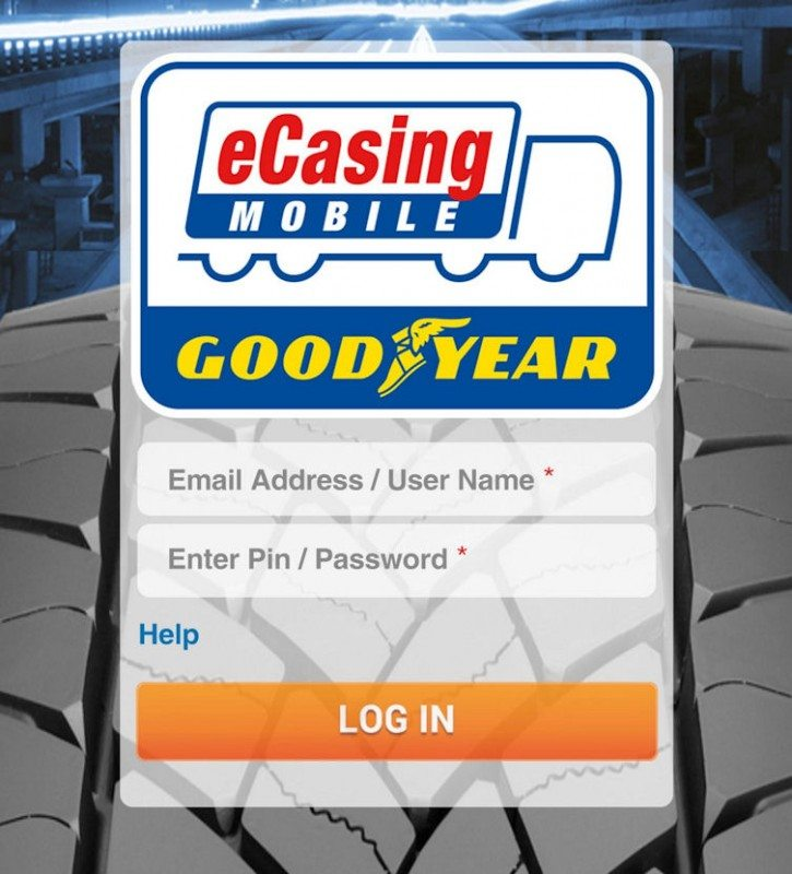 The release of eCasing Mobile increases the versatility of the eCasing system, says Goodyear