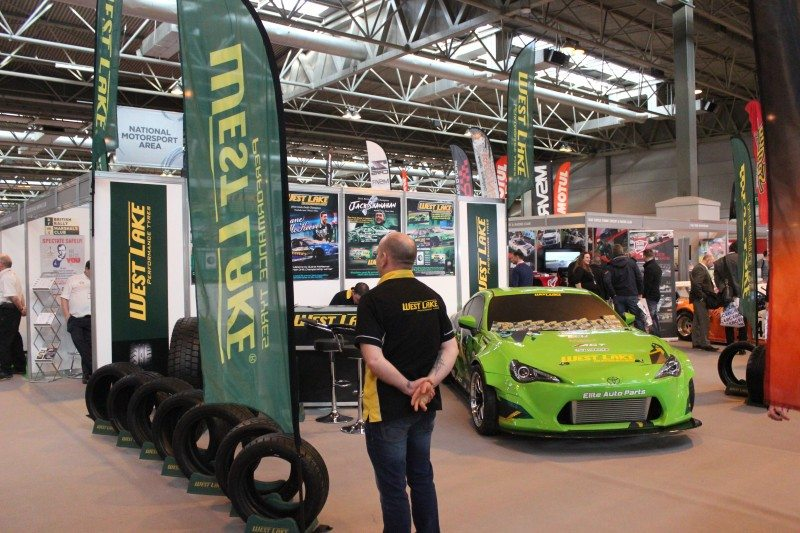 Westlake Motorsport Europe, which is distinct from the well-known passenger car and truck distribution operations, was one of the new names at this year's Autosport Show