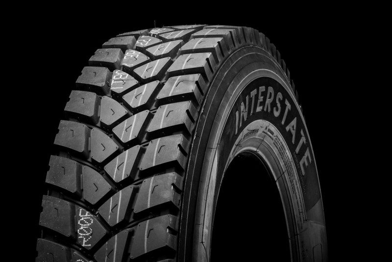 The SR558 is Interstate's second generation of on/off tyre