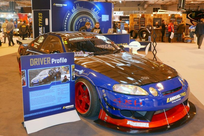 The Landsail stand at AutoSport 2017