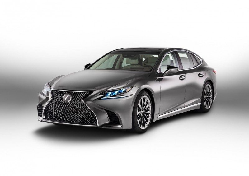 Two Turanza tyre sizes have been approved for the Lexus LS