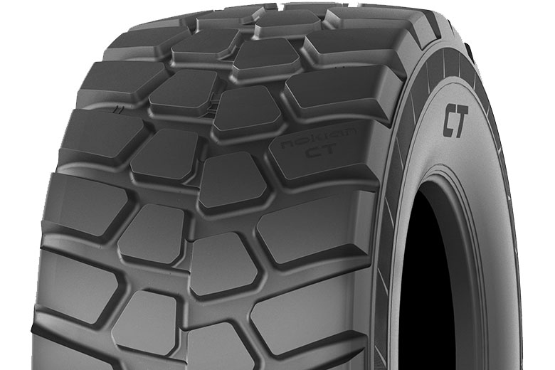 Nokian CT tyres are designed for extremely heavy loads and demanding agricultural and contracting tasks