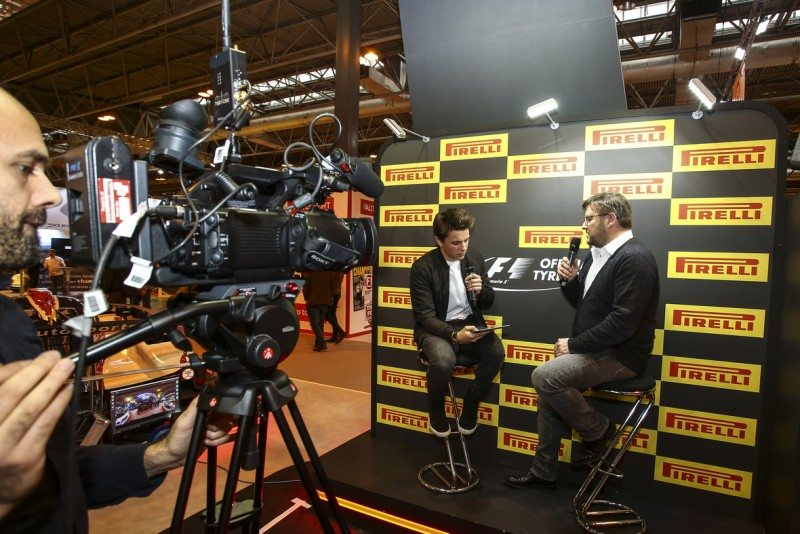 Paul Hembery fielded questions about the new range of F1 tyres for 2017
