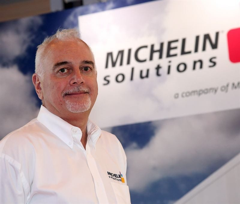 Paul Davey is now commercial director for Michelin solutions in the North European region