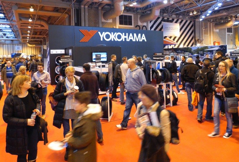 Yokohama kicks off its centenary celebrations with three new tyres at Autosport International