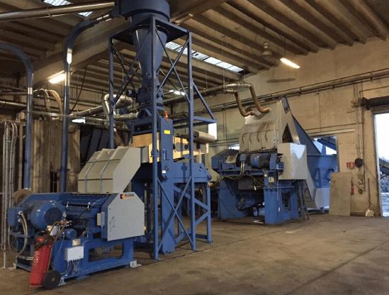 Eldan expands Italian tyre recycling plant