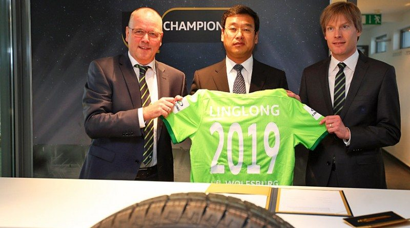 Linglong Tire now a Wolfsburg 'Club of Champions' sponsor