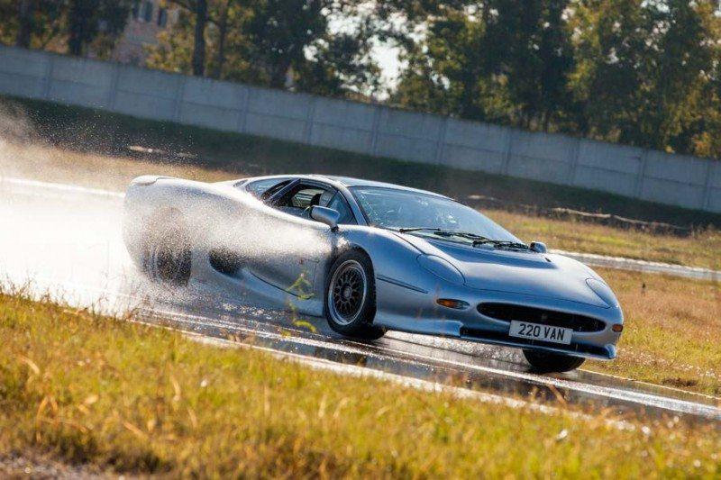 Bridgestone publishes XJ220 update video