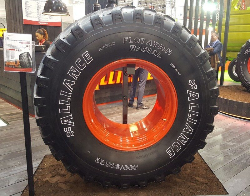 Alliance 380  - now available in size 800/60R32