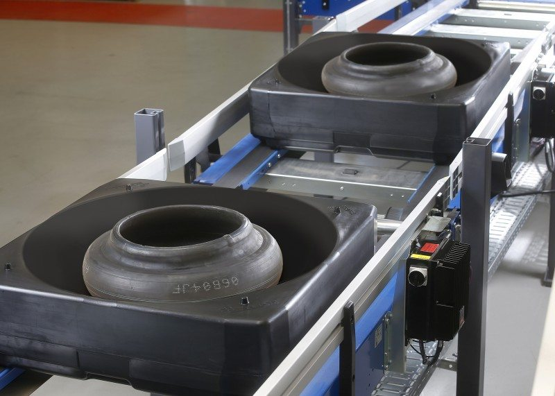 Beumer debuting green tyre handling system at Tire Technology