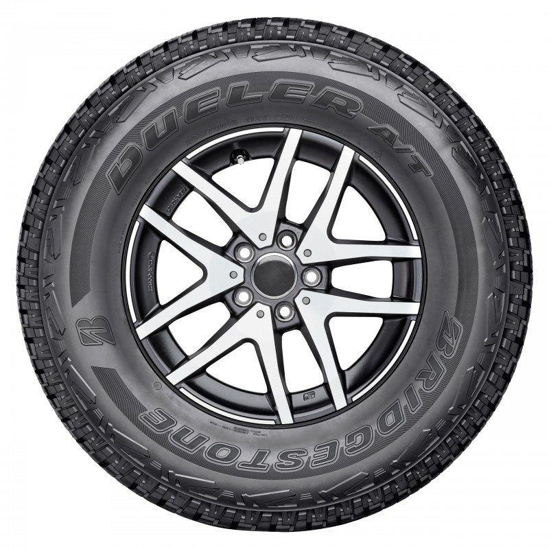 The Dueler A/T 001 will initially be available in 23 sizes for 15 to 18-inch rims