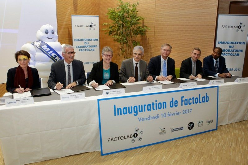 FactoLab was inaugurated at a signing ceremony on 10 February