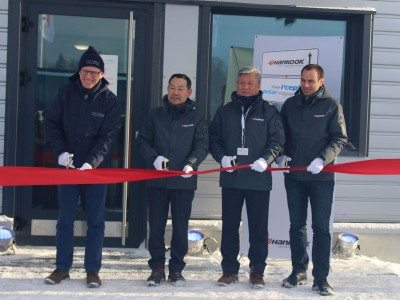 Technotrac: Hankook Tire opens own winter test facility in Finland