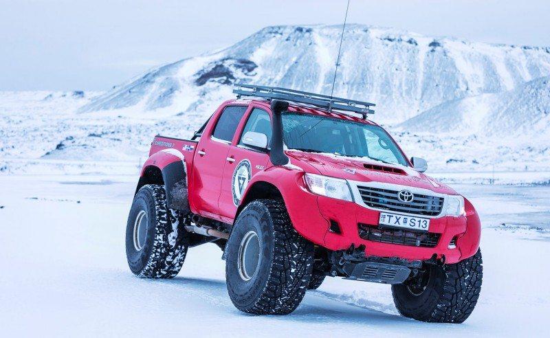 The Hakkapeliitta 44 will be exclusively sold through Arctic Trucks