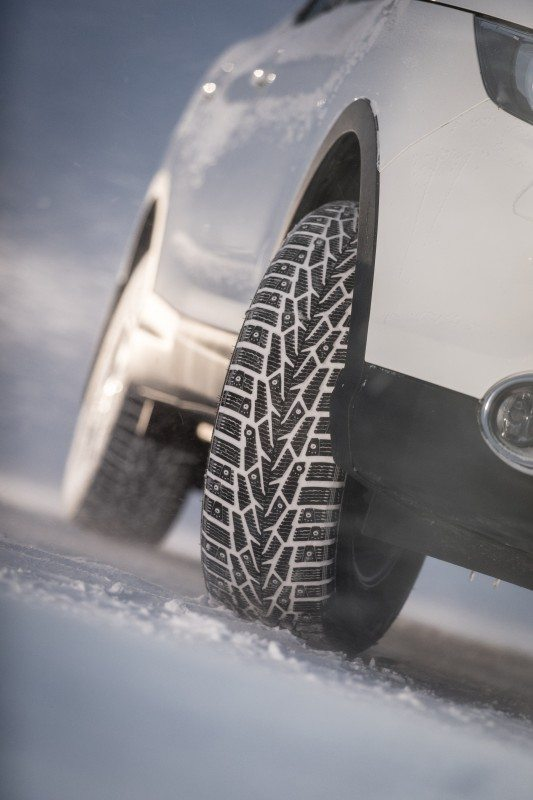 The Nokian Nordman 7 SUV will come in 37 size options, ranging from 15 inches up to 20 inches.