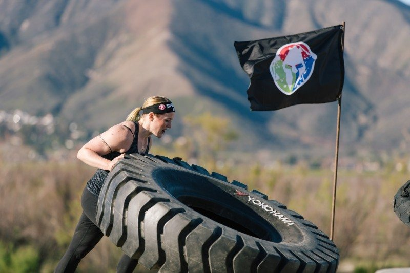 Yokohama tyres will be used by Spartan Race participants competing in the 'Yokohama Tire Flip'