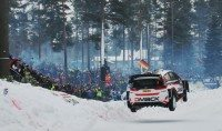 Dmack launches new studded winter tyre for WRC challenge on Rally Sweden